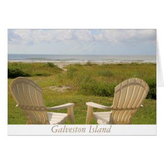 Galveston Island Greeting Card