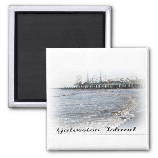 Galveston Island Pleasure Pier Magnet