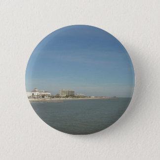 Galveston Island, Texas 2 Inch Round Button