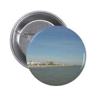 Galveston Island, Texas 2 Inch Round Button