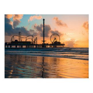 Galveston Sunrise Postcard
