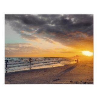 Galveston Sunset Photo Print