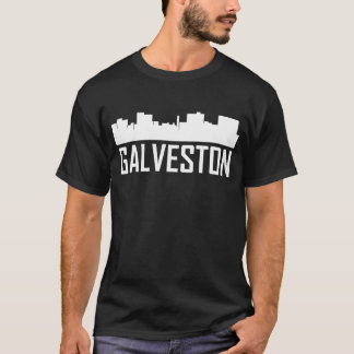 Galveston Texas City Skyline T-Shirt