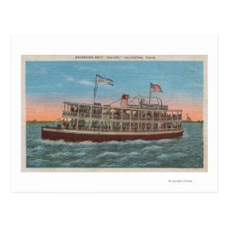 Galveston, TX - View of the Galvez Postcard