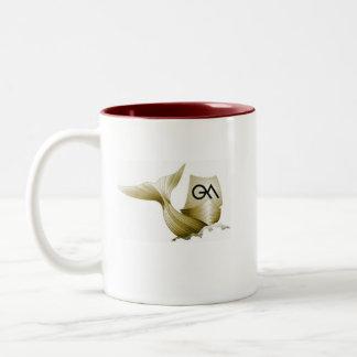 GAM seal maroon mug