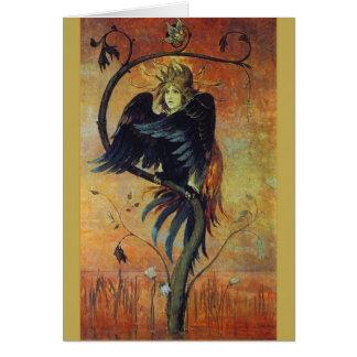 Gamayun: The Prophet Bird Fantasy Art Card