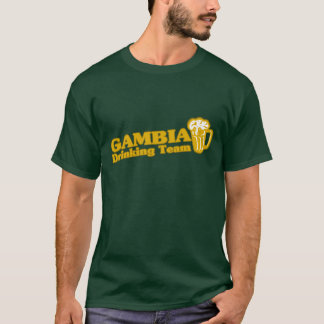 Gambia Drinking Team T-Shirt