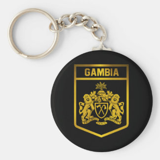 Gambia Emblem Keychain