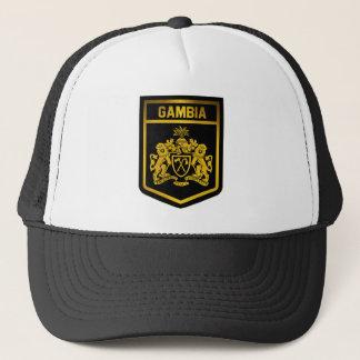 Gambia Emblem Trucker Hat