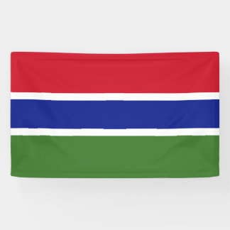 Gambia Flag Banner
