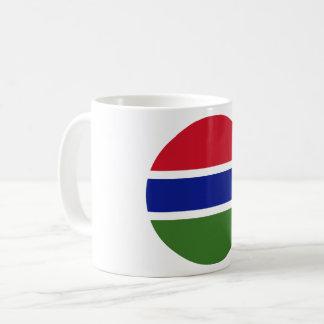 Gambia Flag Coffee Mug