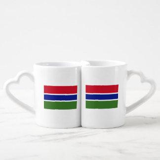 Gambia Flag Coffee Mug Set