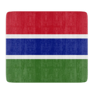 Gambia Flag Cutting Board