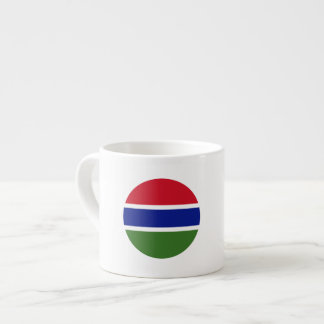 Gambia Flag Espresso Cup