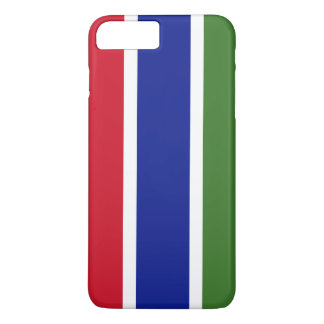 Gambia Flag iPhone 8 Plus/7 Plus Case