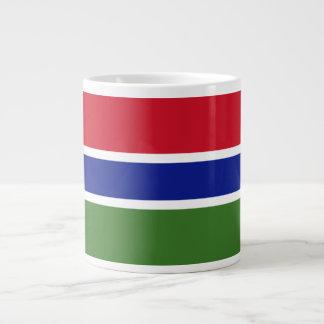 Gambia Flag Large Coffee Mug