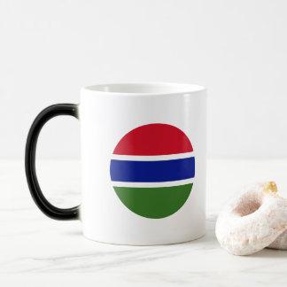 Gambia Flag Magic Mug