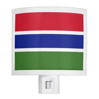 Gambia Flag Night Light