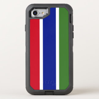 Gambia Flag OtterBox Defender iPhone 8/7 Case