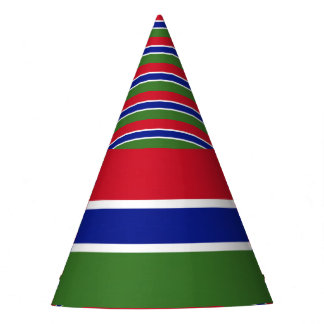 Gambia Flag Party Hat