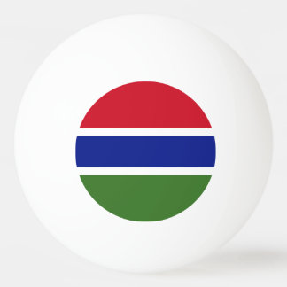 Gambia Flag Ping-Pong Ball