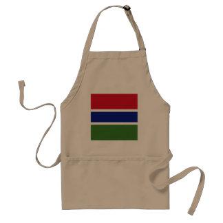 Gambia Flag Standard Apron
