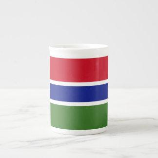 Gambia Flag Tea Cup