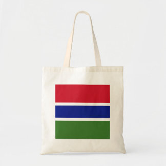 Gambia Flag Tote Bag