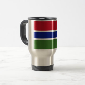 Gambia Flag Travel Mug