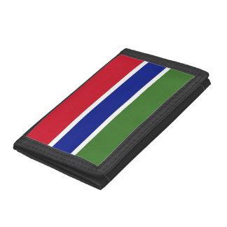 Gambia Flag Tri-fold Wallet