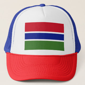 Gambia Flag Trucker Hat