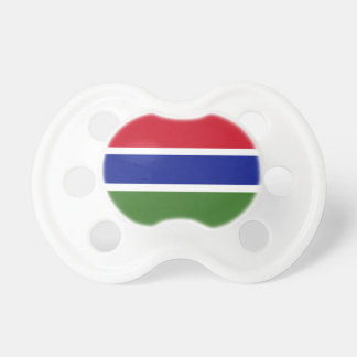Gambia National World Flag Pacifier