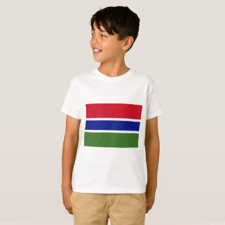 Gambia National World Flag T-Shirt