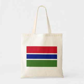 Gambia National World Flag Tote Bag