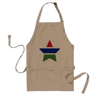 Gambia Star Standard Apron