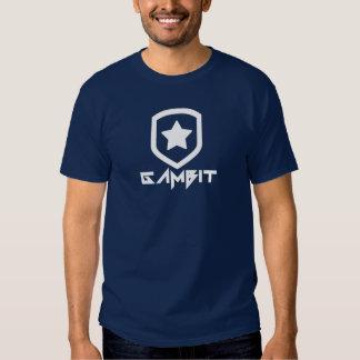 Gambit Gaming Future Logo (white) Shirt