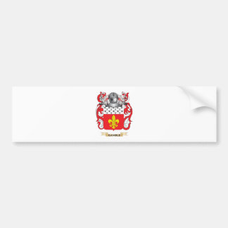 Gamble-(English) Coat of Arms (Family Crest) Bumper Sticker