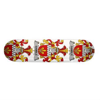 Gamble Family Crest Skate Board