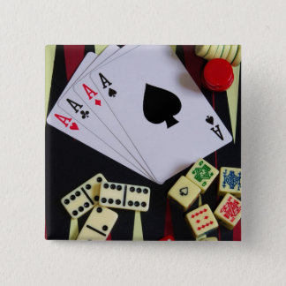 gambler 2 inch square button