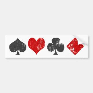 Gambler Bumper Sticker