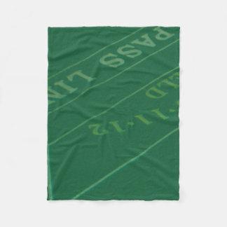 Gamblers Craps Table  Image Fleece Blanket