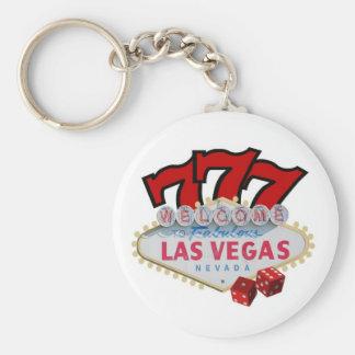 Gambler's Las Vegas Lucky Keychain! Keychain