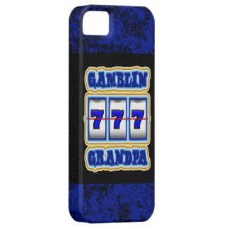 Gamblin Grandpa iPhone 5 Cover
