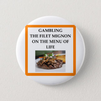 GAMBLING 2 INCH ROUND BUTTON