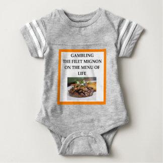 GAMBLING BABY BODYSUIT