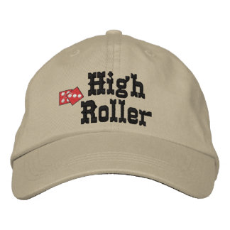Gambling Embroidered Hat