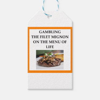 GAMBLING GIFT TAGS