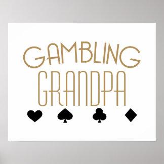 Gambling Grandpa Poster