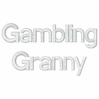 Gambling Granny Embroidered Shirt