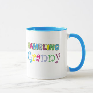 Gambling Granny T-shirts and Gifts. Mug